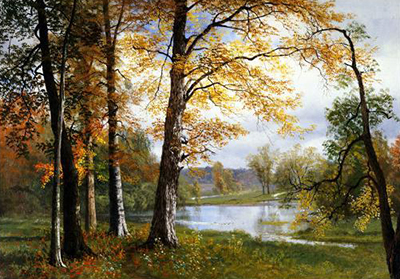 Quiet Lake Albert Bierstadt